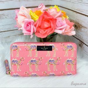 Kate spade daycation neda camel party multi wallet